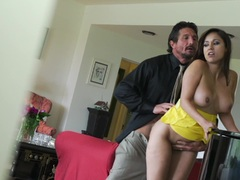 Reena Sky drilled doggystyle