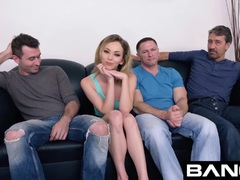 BANG Casting : DP With Pint Sized Babe Angel Smalls