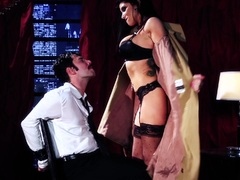 Romi Rain drilled in her pussy