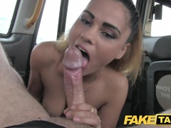 Romanian with nice tits gets facial