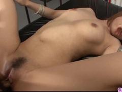 Rui Shiina loves cock in both her moist holes