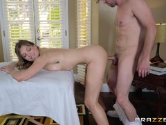 Oiled up fun with Preston Parker and Giselle Palmer