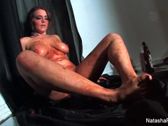 Saucy messy masturbation with Natasha Nice