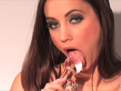 Kinky babes find dildos in their pussys