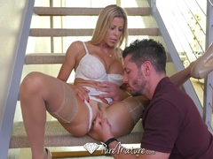 Hot Fuck and creampie with MILF Alexis Fawx