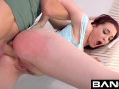 Baning Redheaded Bombshell Amber Ivy