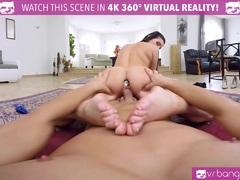 VR PORN Lucia Denvile Get Penetrated In The Back By A Big Cock