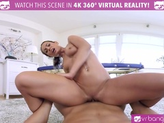 VR PORN Sexy Brunette Honey Lexi Dona