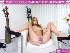 VR PORN PAOLA MIKE DILDO IN THE BUTTHOLE