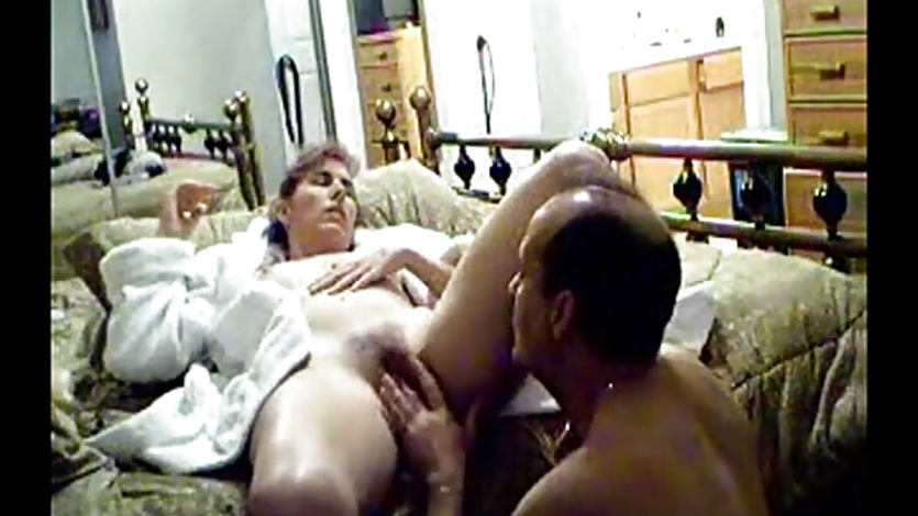 Homemade VHS Compilation of a Horny Amateur Wife