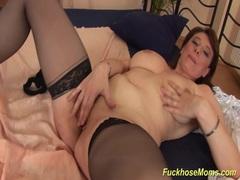 Hot stepmoms first porn video