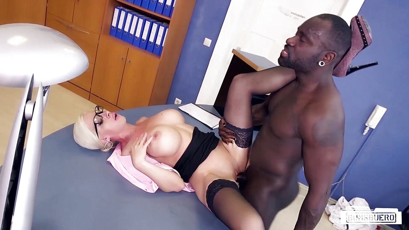 Stockings sex voyeur