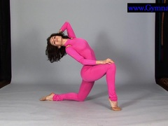 Flexyteen Violeta enjoys gymnastics