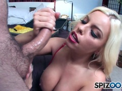 Naughty Britney Amber loves some big fat cock in her sweet ass