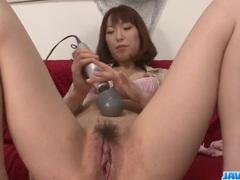 Nonoka Kaede feels like fucking hard after toying her slit