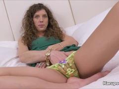 Naughty Janice Eros Pussy Fingering