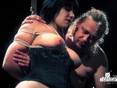 Sexy BDSM with German slave babe