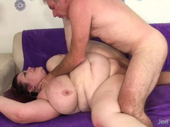 Naughty BBW Lady Lynn takes fat cock
