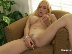 Sexy Mirabella Amore Gets Off With Her Vibrator
