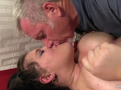 Big BBW Becki Butterfly gets a full body massage