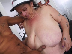 Big Italian BBW newbie gets fucked hard