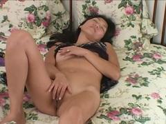 Sexy Asian Michiko Masturbates