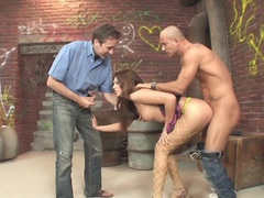 Deep Drilling Sn 2 hot alleyway anal and dp fucking