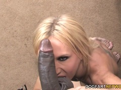 Sexy Cougar Brooke Tyler Loves Black Dick