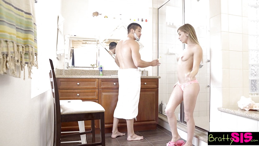 Sis wants a massage from not bro gets way more - 3 part 7