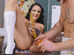 Her sweet pussy cooking cock pussy