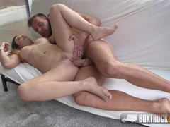 Babe Mira Cuckold Agrees to her First Porn Shoot