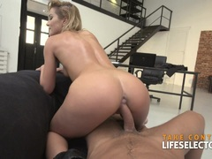 Cherry Kiss rides a huge dick