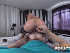 Piper and Holly Petite Threesome