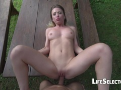 Hot Lustful Sex Outdoors (POV)