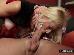 Hottie Anastasia Devine takes big cock in her ass