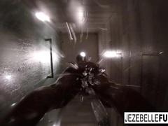 Sexy Jezebelle Bond Steamy Hot Shower