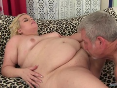 Chubby Blond Dream Is Poked by a Thick Cock