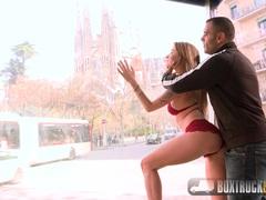 Cute Angel Piaff Enjoys Rebound Sex in Barcelona