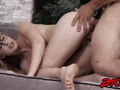 Blonde Alexa Grace getting drilled deep