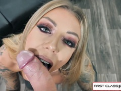 Babe Karma Rx take her mouth and pussy full of dick