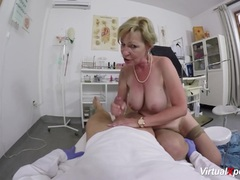 Granny gets pov fucked by her doctor