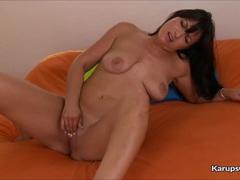 Sexy Milf Sasha Sweetman Solo Masturbation
