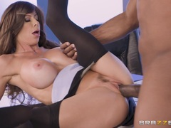 Cute Alexis Fawx drilled by massive BBC