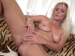Cute MILF goes wild