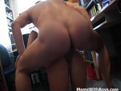Hot Pierced Pussy Mom Fucking At Work