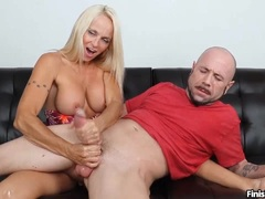 Hot Milf Blonde Knows Exactly What He Wants