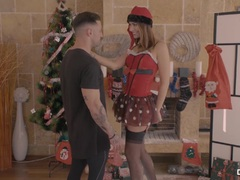 CHICAS LOCA – Xmas sex with steaming Russian Ani Black Fox