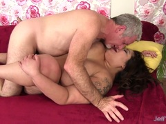 Big Titted Miss Lingling Fucked Hard in Her Pussy