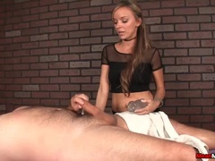 Hot Masseuse Takes Total Control Teasing Your Length