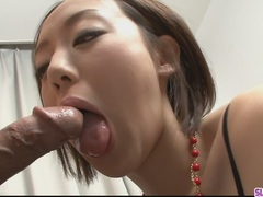 Rina Yuuki is an Asian chick that craves for fuckpole